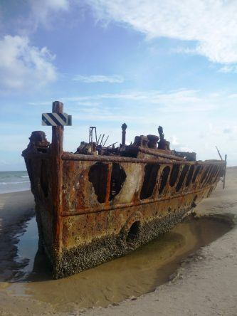 80 Jahre nachdem die Maheno sank