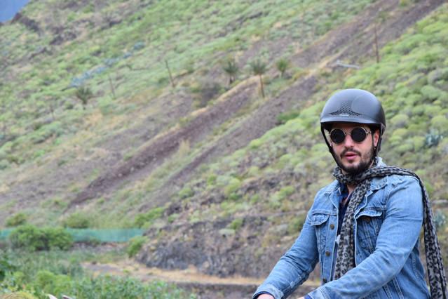 Manuel Cortez beweist Stil - hier beim Ausritt auf den Kanaren im Rahmen von HOTSPOT - Das Reisemagazin