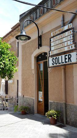 Der Bahnhof von Sóller