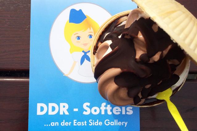 DDR-Softeis Berlin East Side Gallery