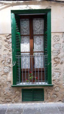 Balkon auf Mallorca