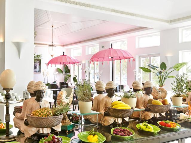 GRECOTEL Caramel Boutique Resort Kreta Obst Buffet