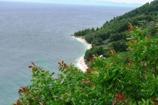 Küste vor Igrane, Kroatien