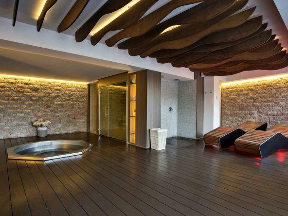 Das Melbeach Hotel Spa überzeugt durch einen schönen Wellnessbereich mit Wohlfühlfaktor