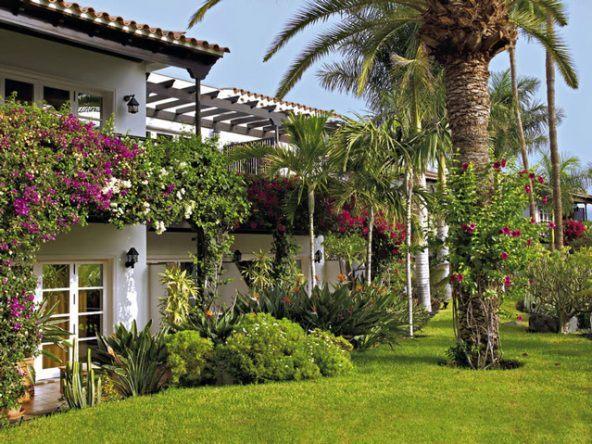Top gepflegt: Die Gartenanlage des Seaside Grand Hotel Residencia