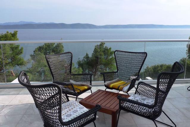 Lobby Terrasse SENSIMAR Makarska