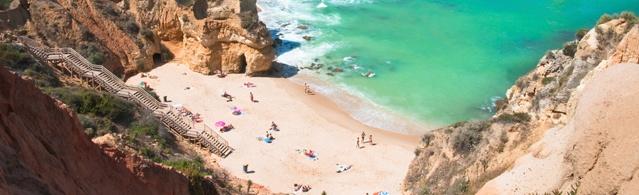 Außergewöhnlich schön ist die portugiesische Algarve
