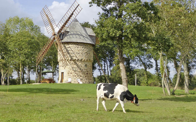 Windmühle in der Bretgane