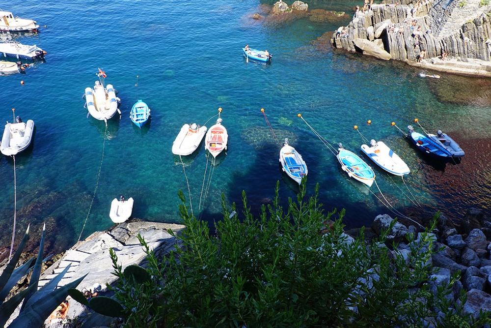 Kleine Boote in Portovenere