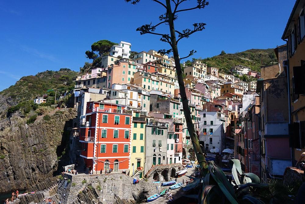 Die bunten Häuser von Cinque Terre