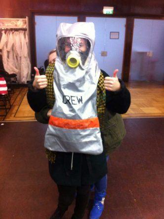 Ich habe es geschafft, die Oxycrew Atemschutzmaske anzuziehen: Feuer, ich werde dich löschen!