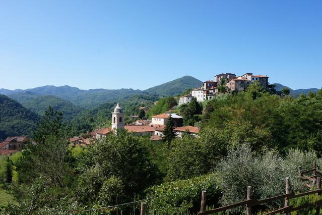 Blick auf die Toskana