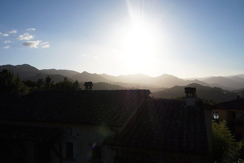 Licht- und Schattenspiel in der Toskana