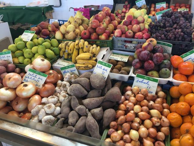 Das Obst und Gemüse auf dem Markt ist mir aber deutlich lieber