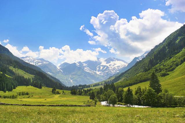 Wundervolle Natur Österreich