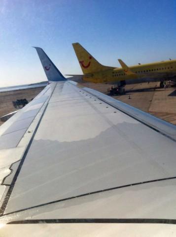 Wie aufregend: Ich fliege mit der TUIfly als Crewmitlglied