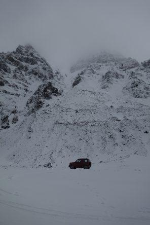 40 Kilometer vom Polarkreis entfernt