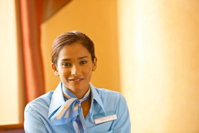 Angehende Tourismuskaufleute helfen dabei unseren Kunden ein Lächeln aufs Gesicht zu zaubern!