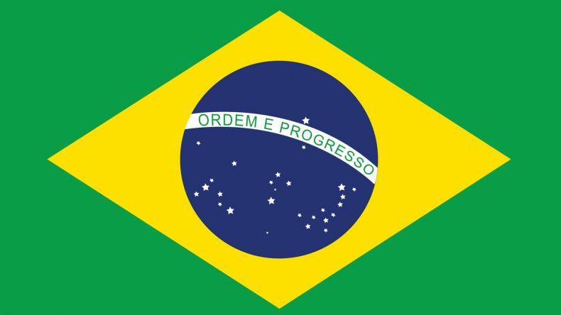 Der Sternenhimmel der brasilianischen Flagge zeigt die Sternenkonstellation, die am zum Tag der Gründung der Republik am Himmel über Rio de Janeiro zu erblicken war. 27 Sterne für Brasiliens Bundesstaaten.
