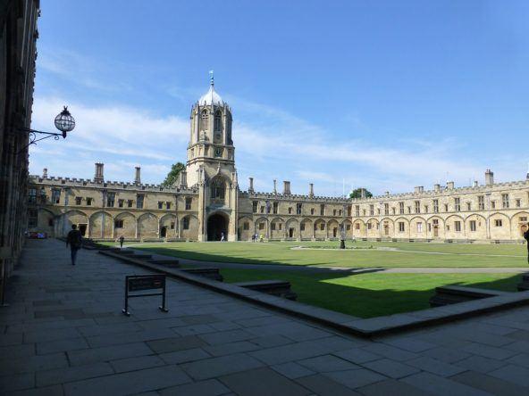 Perfekt gepflegt und gehegt: Die Anlage des Christ Church Colleges in Oxford