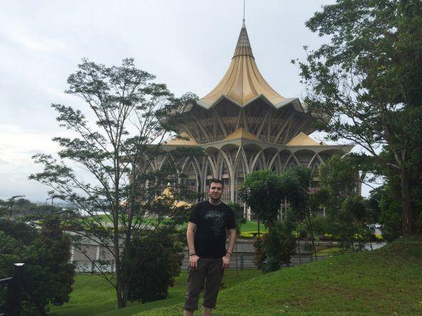Der DUN-Komplex behebergt das malaiische Parlament