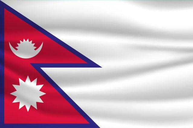 Etwas ganz Besonderes: Die Flagge von Nepal