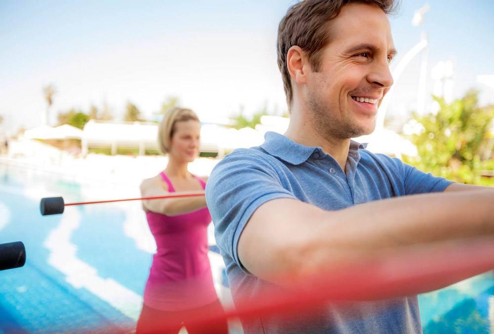 In den SENSIMAR Hotels könnt ihr zwischen vielen Sportmöglichkeiten wählen!