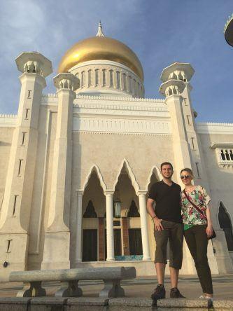 Trotzdem verirren sich nur wenige Touristen in das prachtvolle Sultanat