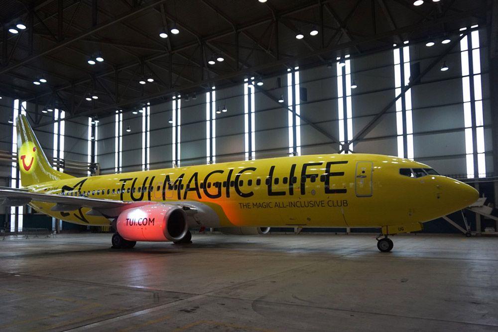 TUIfly Maschine TUI Magic Life