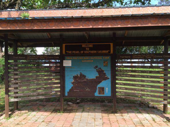7 Wanderwege machen die Wahl zur Qual - der östliche Teil des Parks ist zurzeit nicht besuchbar