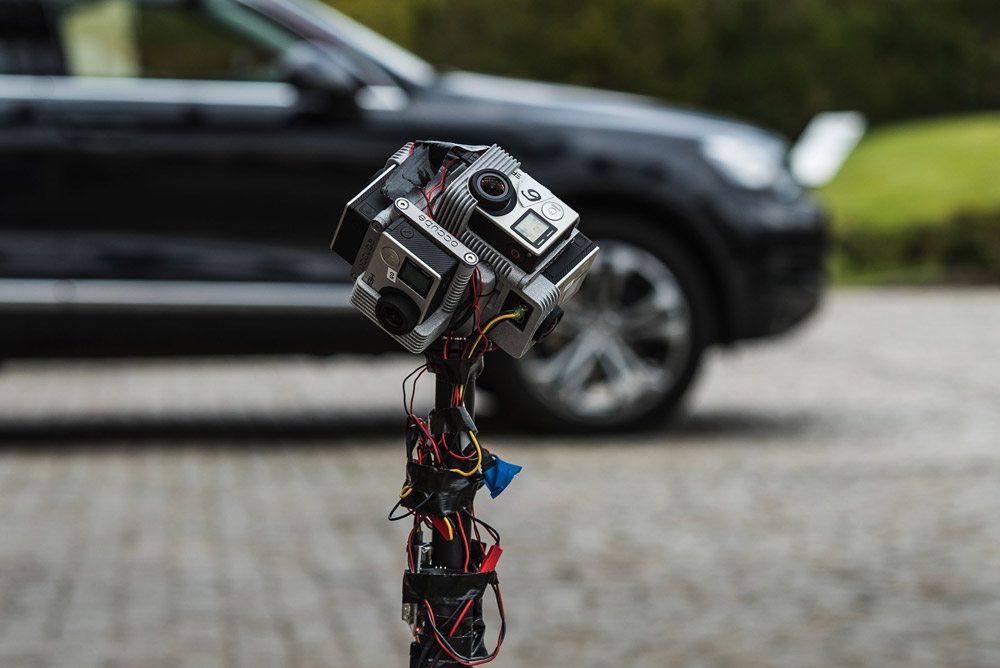 Mit dieser 360 Grad Kamera wird gedreht