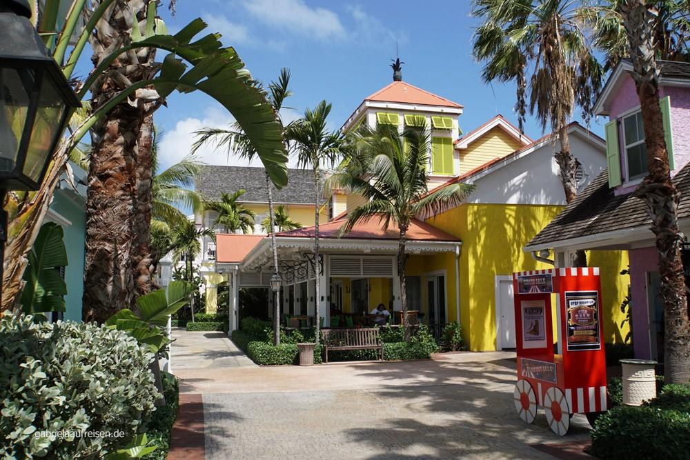 Einkaufszentrum auf Paradise Island
