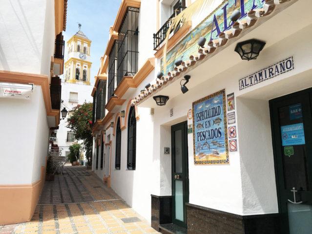 Fast jede Gasse in der Altstadt Marbellas ist ein Bild wert