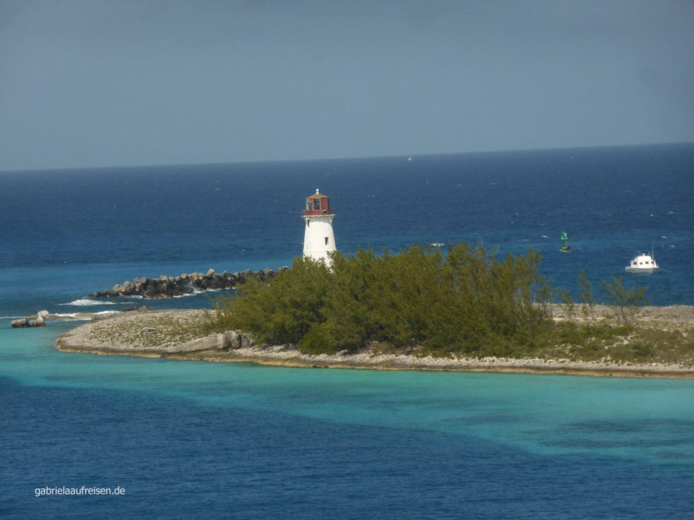 Leuchtturm auf Paradise Island