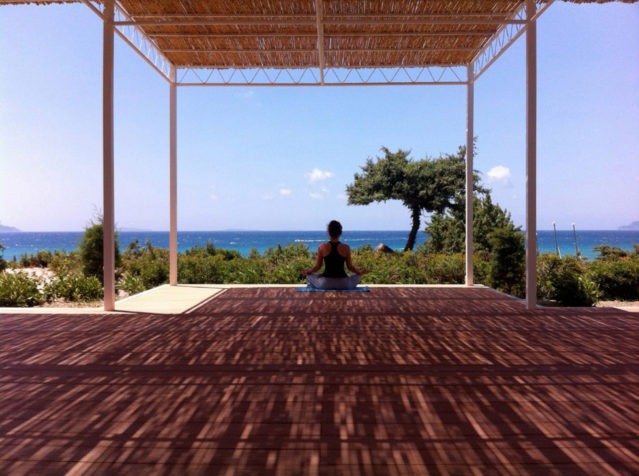 Outdoor-Yoga im ROBINSON Club Daidaolos