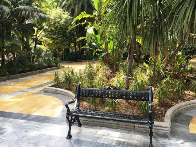 Im Parque Alameda lässt es sich herrlich relaxen und Kraft tanken