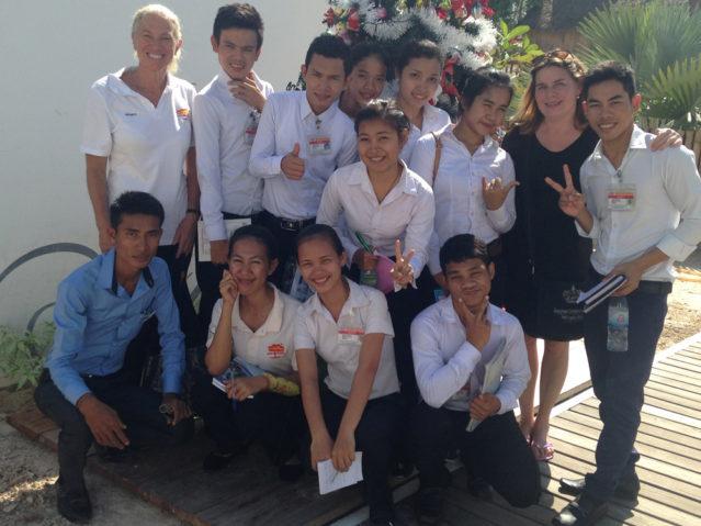 Die Schüler der Don Bosco Hotel School
