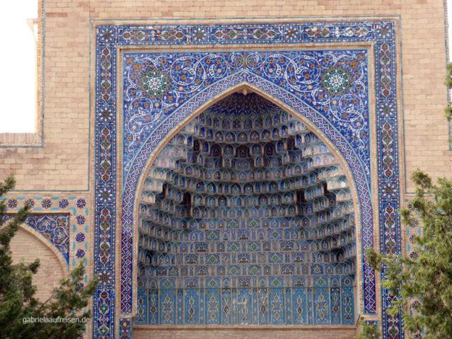 Kacheln in der Nekropole von Samarkand