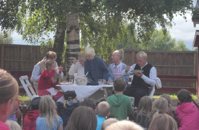 Bei Michel bzw. Emil aus Lönneberga zu Besuch