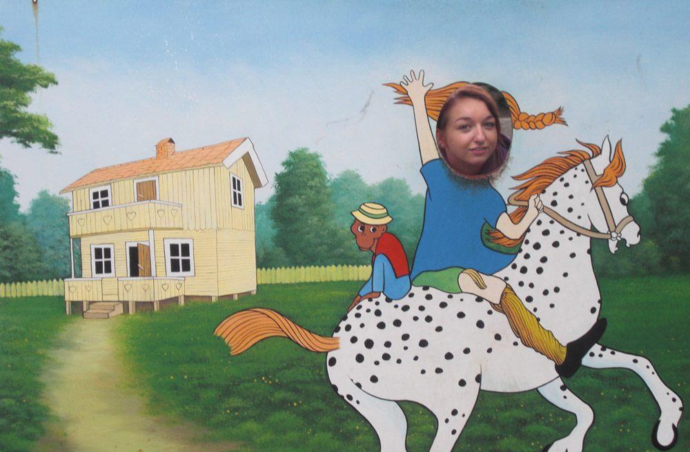 Na wie mache ich mich als Pippi?
