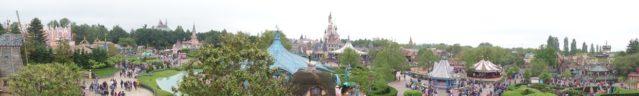 Blick aufs Disneyland® Paris
