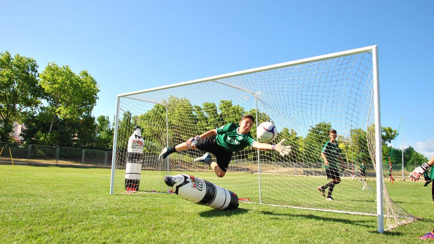 Training mit der 96-Fußballschule