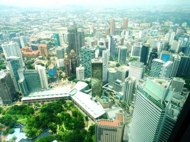 Kuala Lumpur: Blick von den Petronas Towers