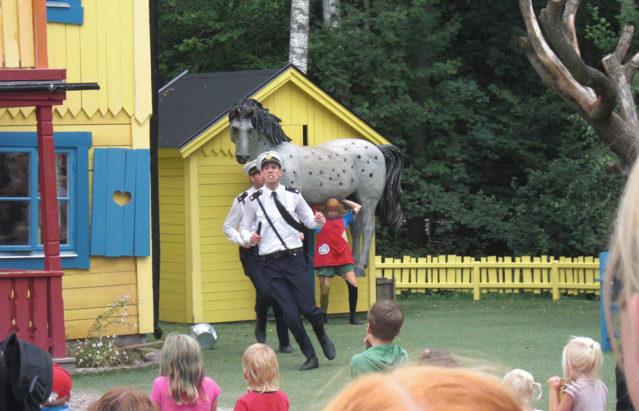 Schauspiel bei Pippi Langstrumpf