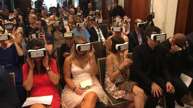 360 Grad Videopremiere beim SPA Diamond 2016