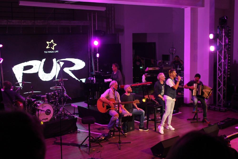 Stars on Stage PUR Konzert im TUI MAGIC LIFE Plimmiri
