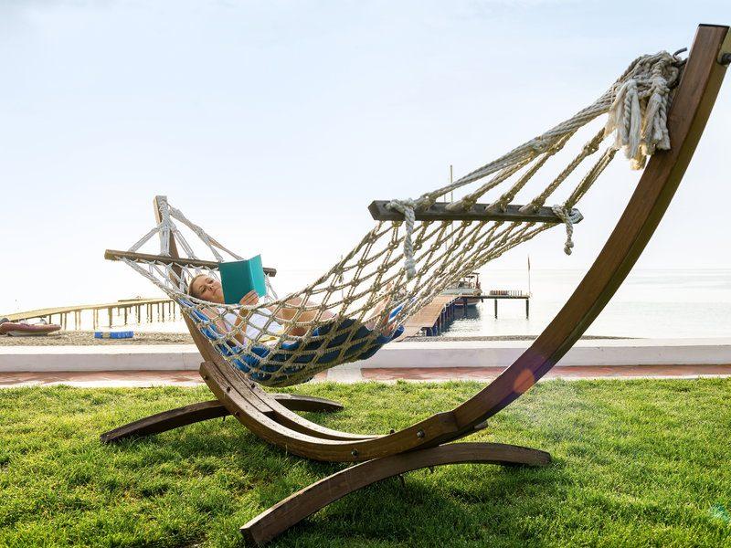 Es muss nicht immer Action sein. Entspannung tut auch mal gut!