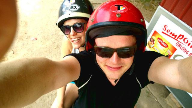 Helmpflicht beim Rollerfahren auf Langkawi