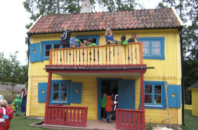 Villa Kunterbunt in seiner vollen Pracht