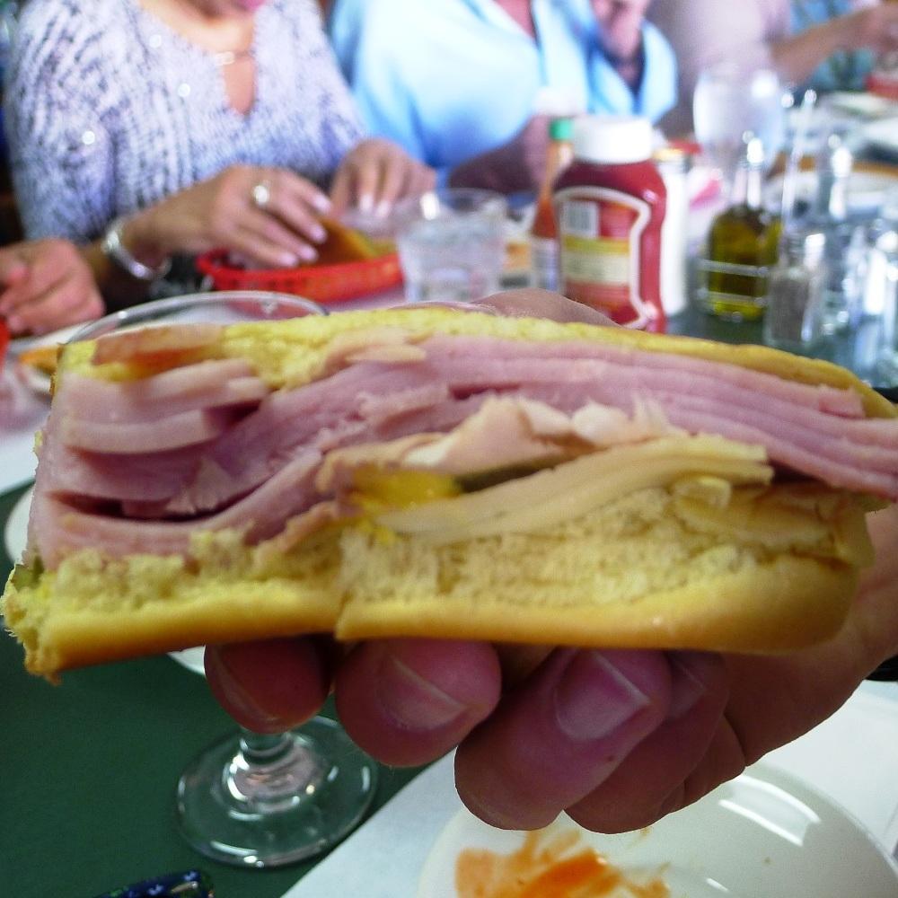 Das ist mal ein Schinkensandwich!